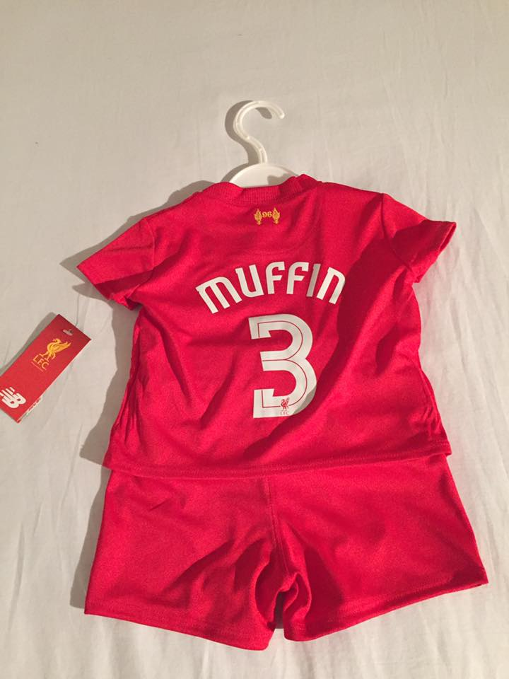 Welcome to the Kopite family, Muffin #3!